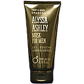 Alyssa Ashley Musk for Men Hair & Body Shampoo 100ml