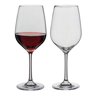 Dartington Crystal Wine & Bar Red Wine Glasses, Set of 2