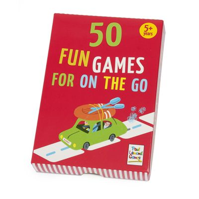 50 Fun Games for On The Go from 5yrs+ by Paul Lamond Games