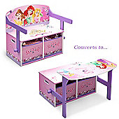 Disney Princess Convertible Desk and Bench