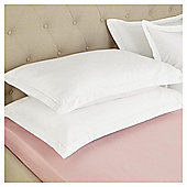 Fox & Ivy Egyptian Cotton 200 Thread Count   Fitted Sheet - Rose