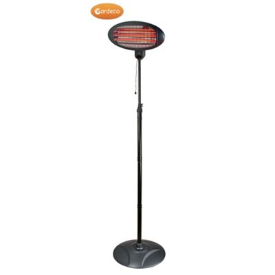 LECTRO, Electric pedestal mounted patio heater, 2000W