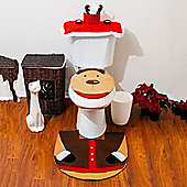 Reindeer Christmas Xmas Novelty Toilet Seat Cover