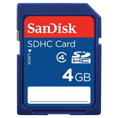 SanDisk SDHC memory card Class 4 - 4GB