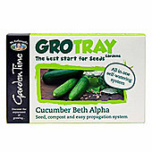 Mr Fothergill's GroTray - Cucumber Seeds, Compost & Propagation Kit