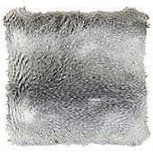 Faux Fur Cushion - Mink