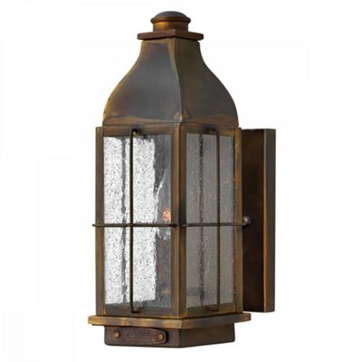 Sienna 1lt Small Wall Lantern - 1 x 60W E14
