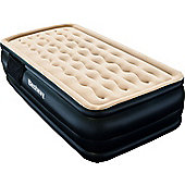 Dreamair Raised Single Airbed With Inbuilt Pump