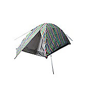 Mountain Warehouse Patterned Festival Dome 2 Man Tent