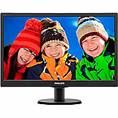 "Philips V-line 193V5LSB2 47 cm (18.5"") LED Monitor - 16:9 - 5 ms"