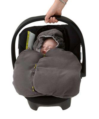 Mamas & Papas - Car Seat Footmuff - Dove Grey