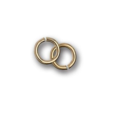 Impex Gold Jump Rings 5mm