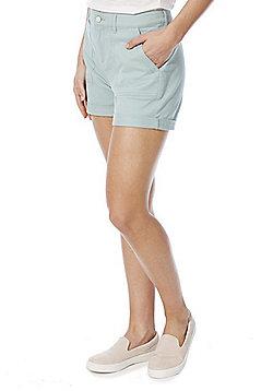 F&F Cuffed Chino Shorts - Mint