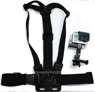 Navitech Body Chest Strap Harness For TheVicture Action Camera 1080P FHD
