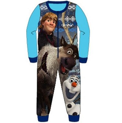 Disney Frozen 'Boy' Fleece 2-3 Years Jumpsuit