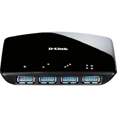D-Link Systems 4 PORT SUPERSPEED USB 3.0 HUB