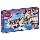 Lego Friends Andrea'S Speedboat Transporter 41316