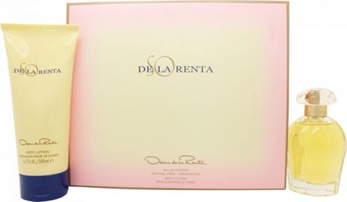 Oscar De La Renta So de la Renta Gift Set 100ml EDT + 200ml Body Lotion For Women