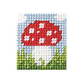 Orchidea Toadstool Embroidery Kit
