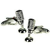 Microphone DJ Themed Novelty Cufflinks