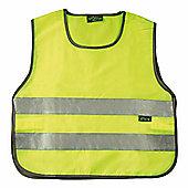 Reflective Fluorescent Bright Kids Tabard Hi-Viz Large
