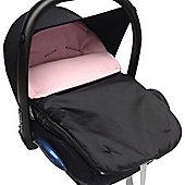Car Seat Footmuff To Fit Maxi Cosi Pebble Light Pink