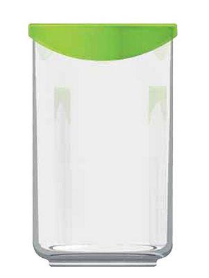 Luminarc Keep n Box Storage Jar with Lid, 1.1L, Cylindrical
