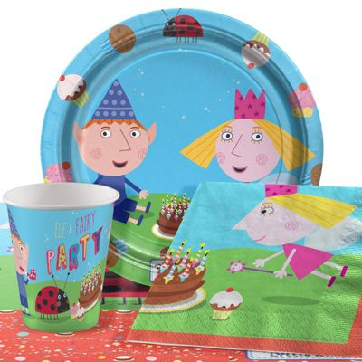 Ben & Holly Party Pack - Value Party for 8