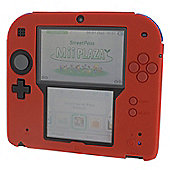 Zedlabz Silicone Protective Cover For Nintendo 2ds [red] /2ds - Nintendo3Ds