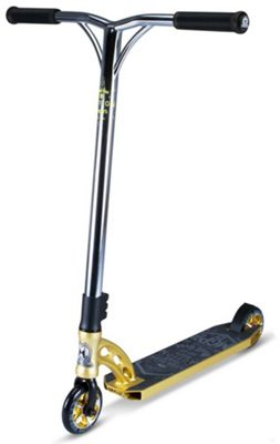 Madd Gear MGP VX7 Team Edition Model Scooter - Gold with Chrome Bars