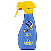 Nivea Sun Kids Caring Sun Spray 50+ Very High 300ml