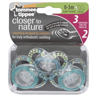 Tommee Tippee   Closer To Naturestylesthr 0-3Mx3
