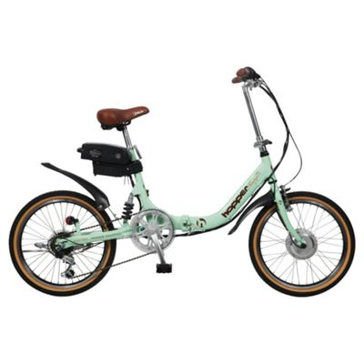 Hopper Shopper SE Electric Bike, Green
