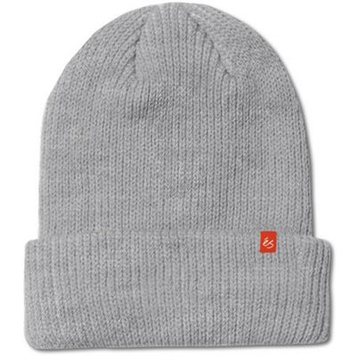 eS Block Beanie - Grey Heather