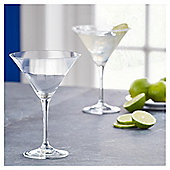 Fox & Ivy Crystal Glass Pack of 4 Cocktail Glasses