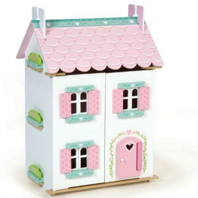 Sweetheart Cottage Dolls House with Furniture