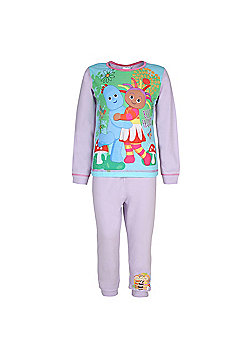 In The Night Garden Baby Toddler Girls Pyjamas - Purple
