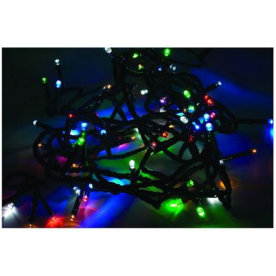 50 Piece Multi Colour Solar Fairy Lights Chain 3.5M