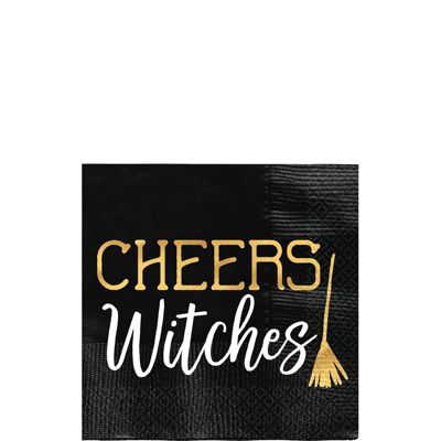 Cheers Witches Beverage Napkin - 25cm