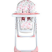 My Babiie Katie Piper MBHC8BU Believe Premium Highchair (Pink Butterflies)