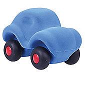 Rubbabu The Micro Rubbabu Car (Blue)