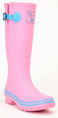 Evercreatures Festival Ladies Wellies Pasture Pink 3