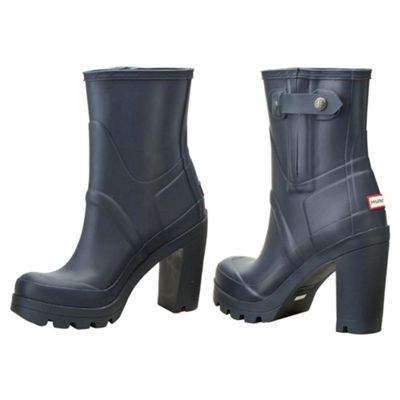 new style fe26e f1845 Buy Hunter High Heel Boots - Navy - Adult Size 6 from our ...