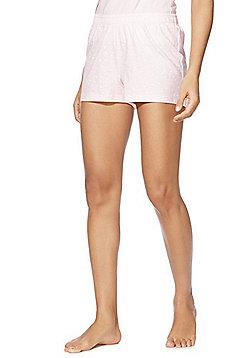 F&F Star Print Lounge Shorts - Pink/White