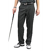 Woodworm Dryfit Flat Front Golf Trousers - Black