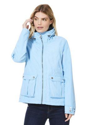 Regatta Nardia II Waterproof Jacket Light Blue 16
