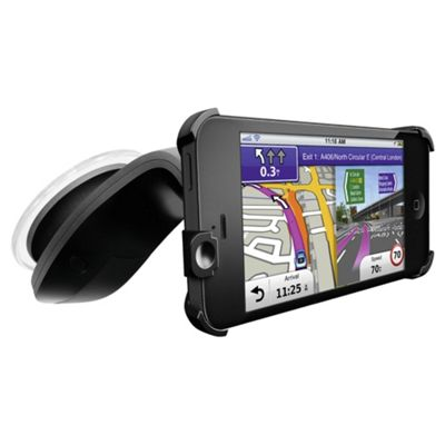Garmin StreetPilot Navigation App & Car Kit for iPhone 5 with Western European Maps