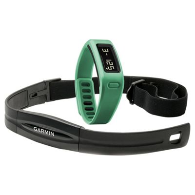 Garmin Vivofit Fitness Tracker with Heart Rate Monitor Band - Teal
