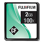 Fujifilm 2GB Compact Flash Memory Card 100x