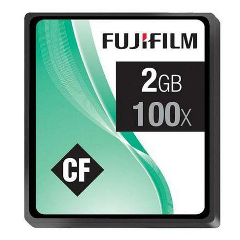 Fujifilm 2GB Compact Flash Memory Card 100x